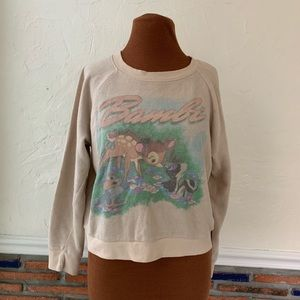 Vtg Disney Bambi sweatshirt